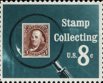 Stamp Collecting, 8-cent, 1972