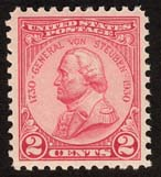 Von Steuben Issue, 1930 (Photo, Smithsonian National Postal Museum)