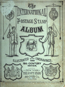 International Postage Stamp Album Cover