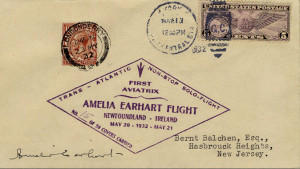 Earhart flight cover